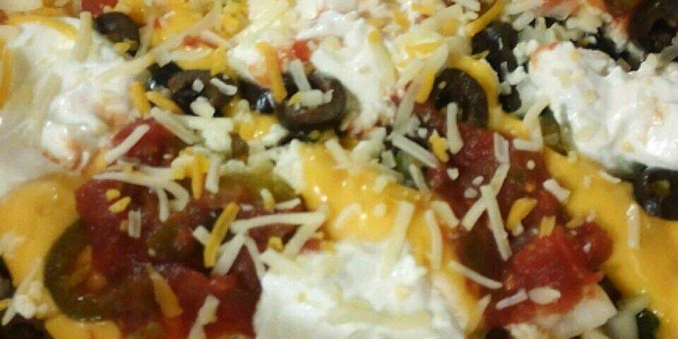 lisas italian nachos recipe