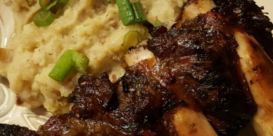 kalbi marinated beef short ribs recipe