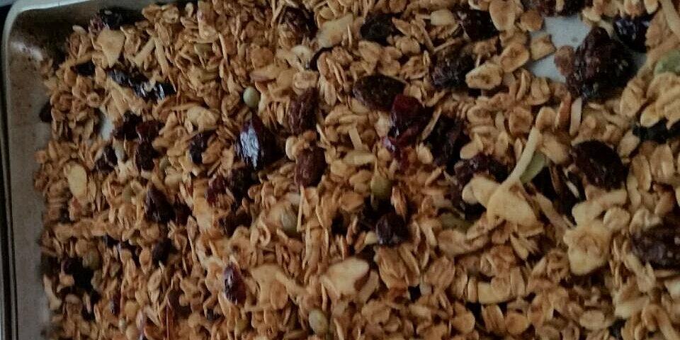 almost fat free granola recipe