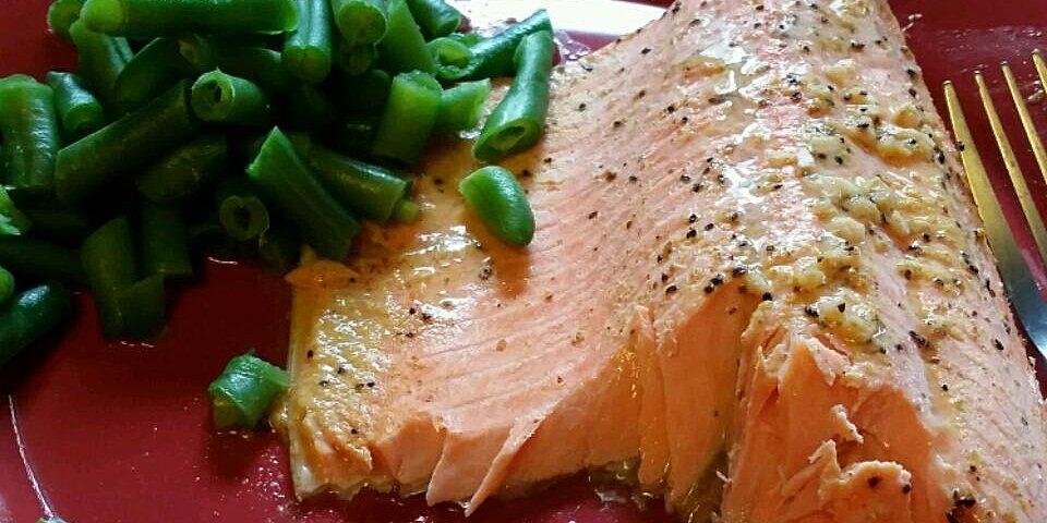 steelhead trout bake with dijon mustard recipe