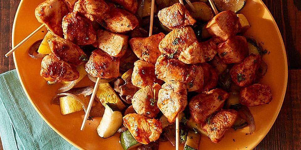 spicy harissa chicken kebabs recipe