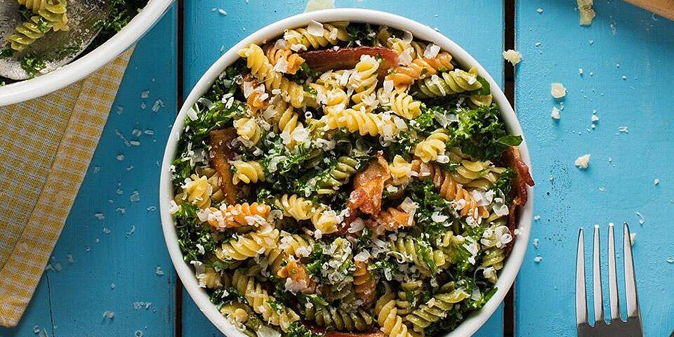 catelli bistro kale caesar pasta salad recipe