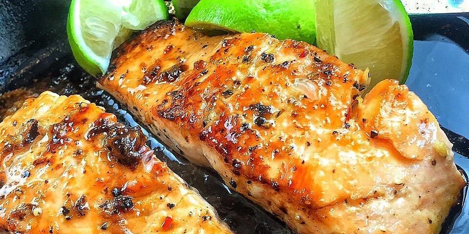 cedar plank grilled salmon recipe