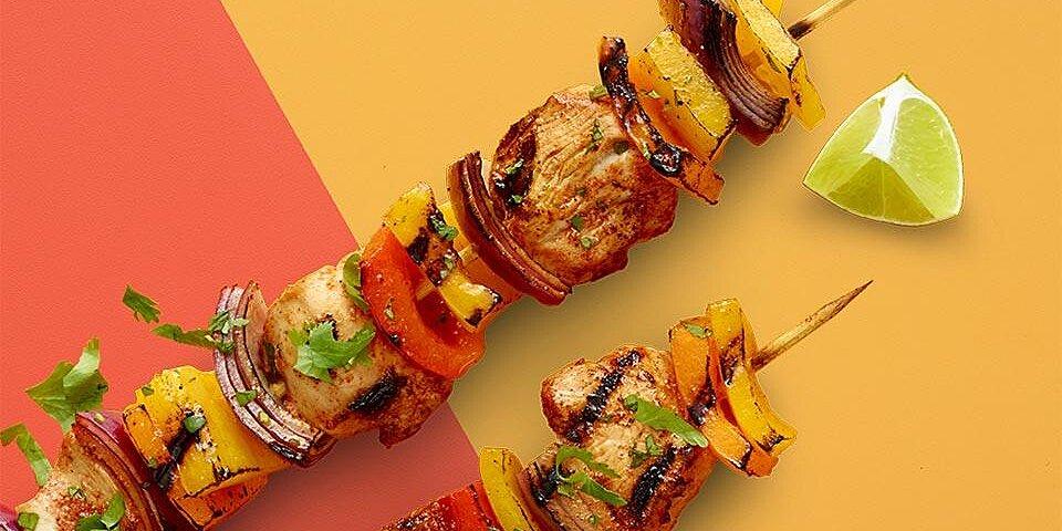 chicken fajita kabob recipe