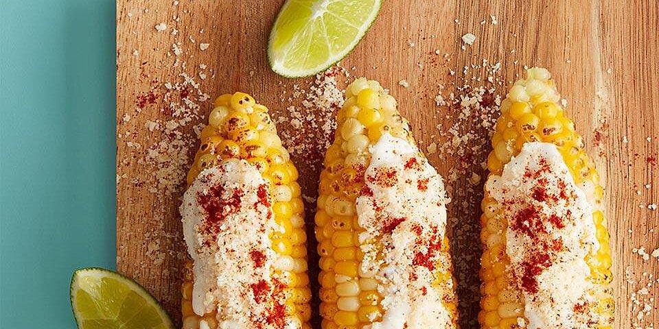 elote grilled corn