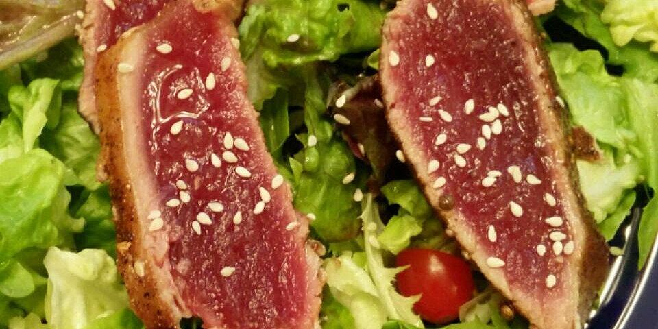 spicy rub for seared tuna steaks recipe