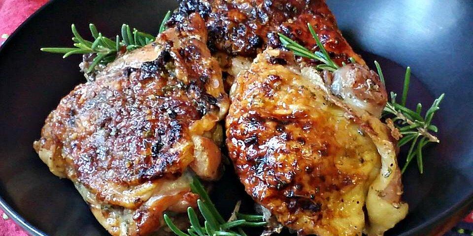 honey garlic chicken with rosemary recipe