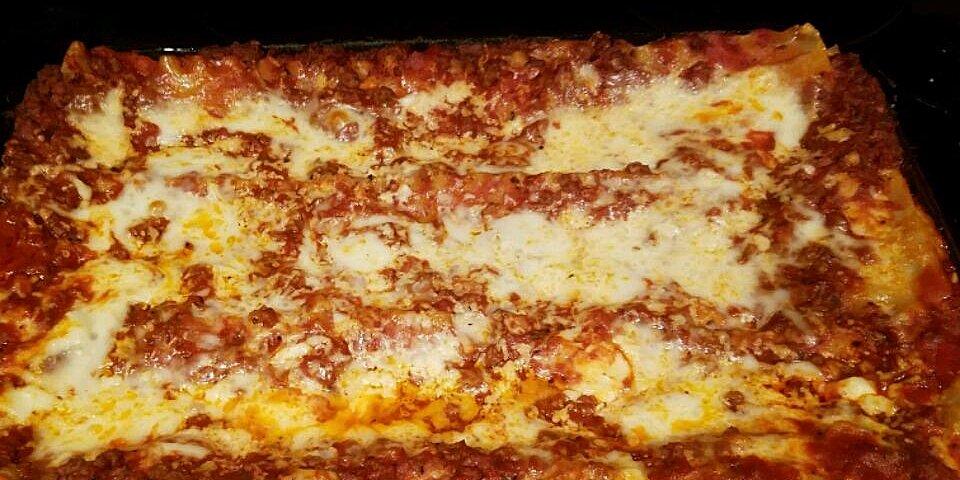 deep dish lasagna recipe