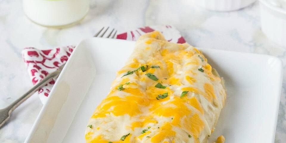 breakfast enchiladas from jones dairy farm