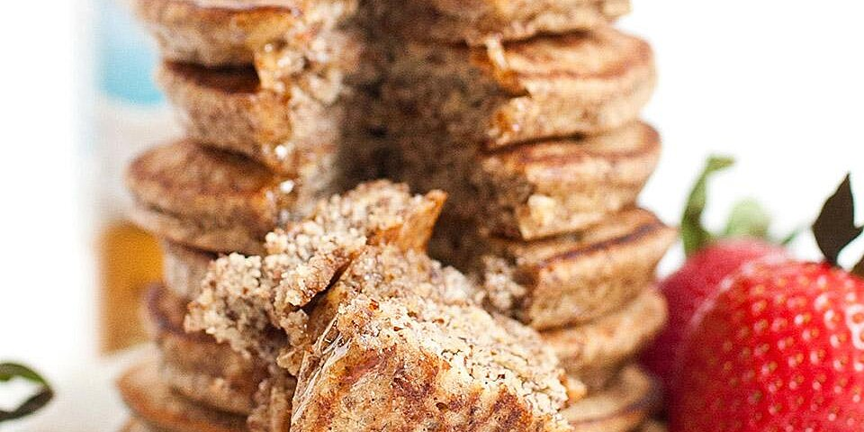 almond flour pancakes from almond breeze