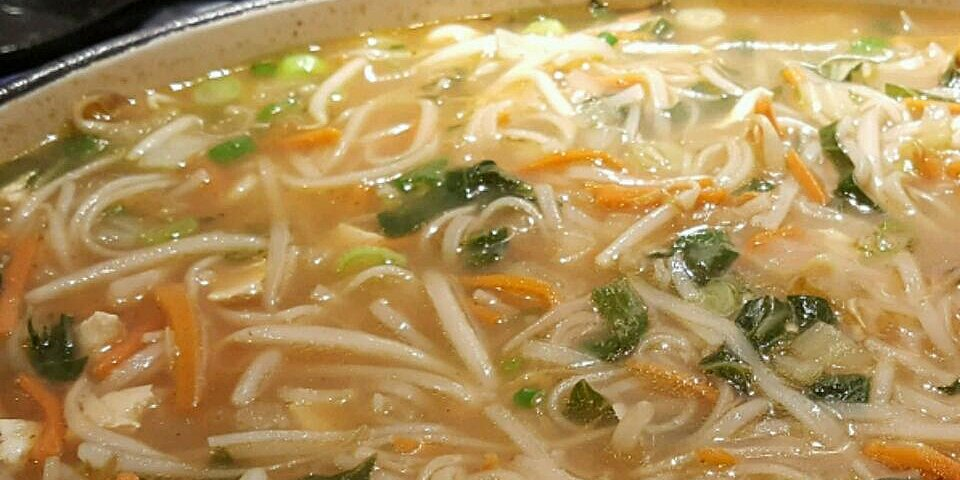 ginger noodle bowl the vegan version recipe