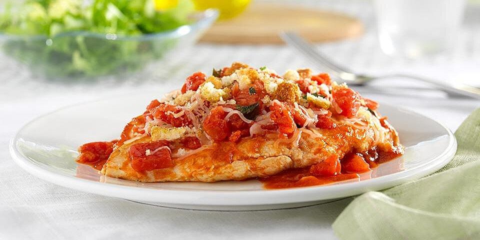 hunts bruschetta chicken skillet recipe