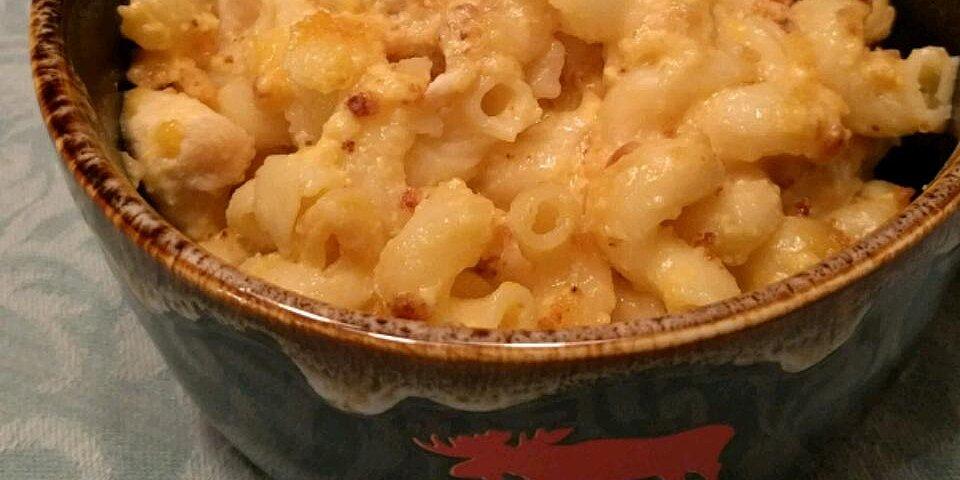 garlic chicken mac and cheese recipe