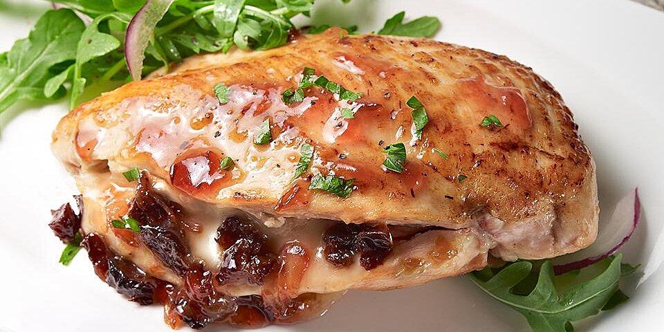 prune and brie stuffed chicken recipe
