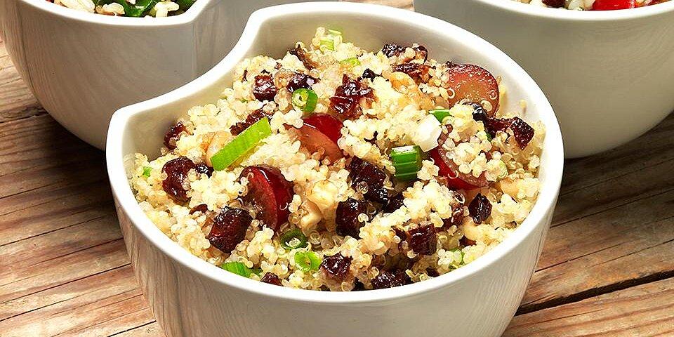 quinoa grape and prune salad