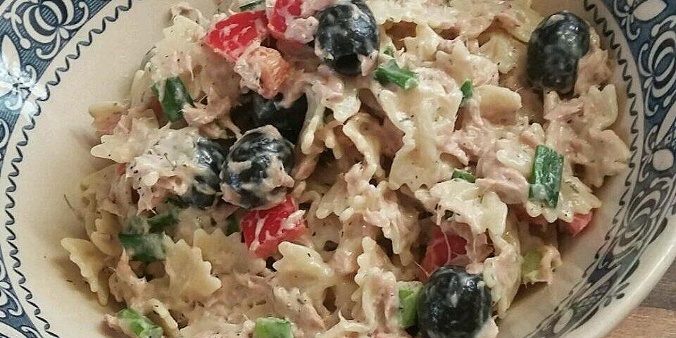 dill veggie tuna salad recipe