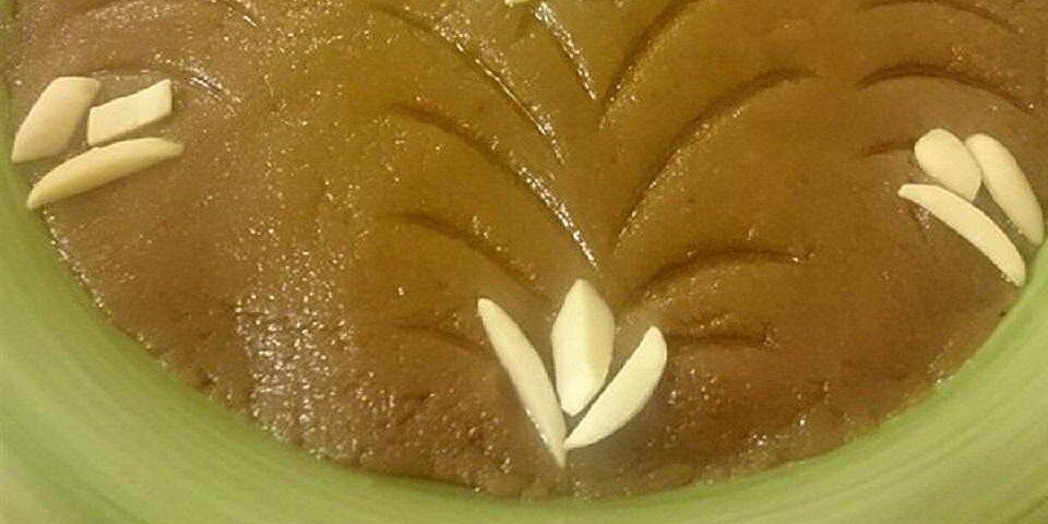 wheat flour halva recipe