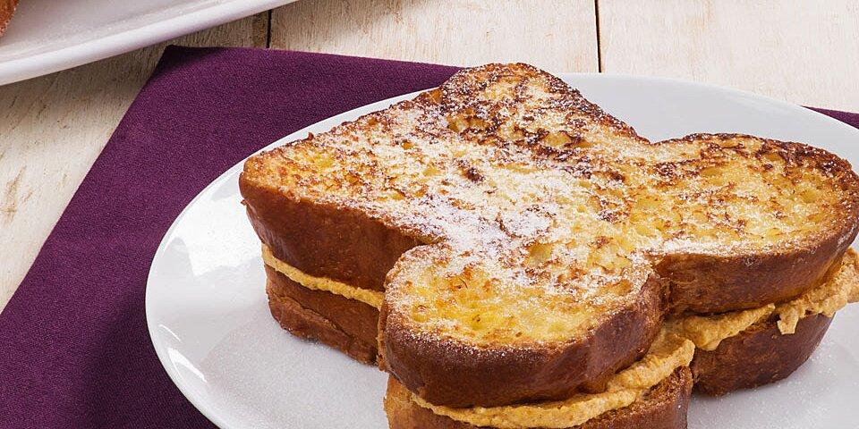 stuffed pumpkin spice french toast