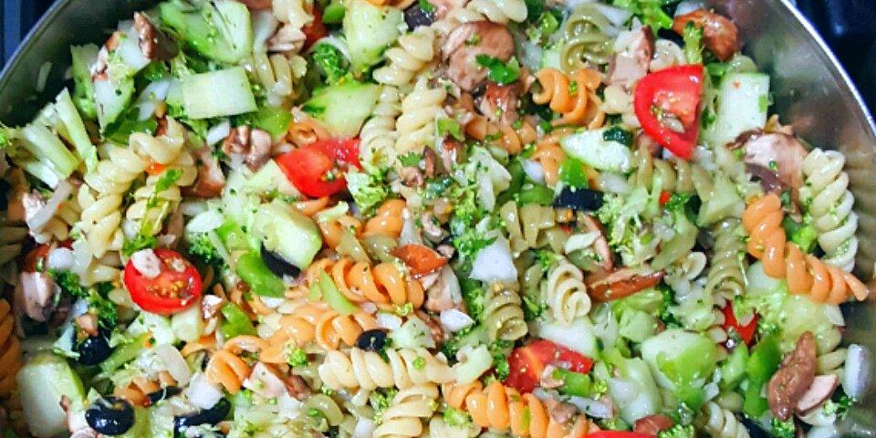 rainbow rotini salad recipe