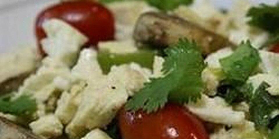 spicy tofu scramble recipe