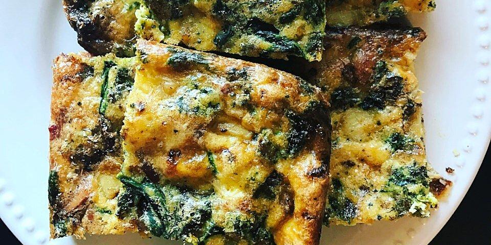 back to healthy sweet potato and bacon breakfast casserole recipe