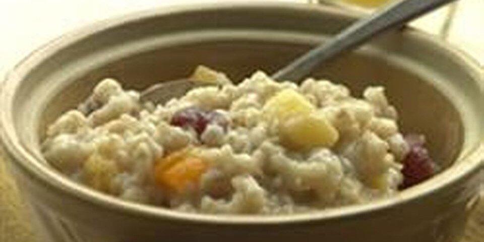 overnight oatmeal with milk recipe