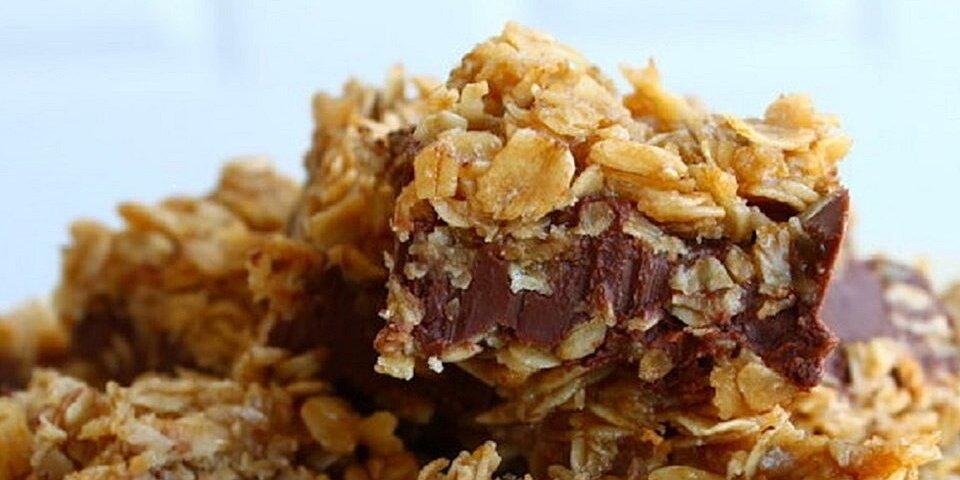 no bake chocolate oatmeal bars recipe