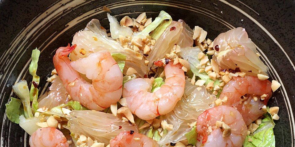 shrimp pomelo salad recipe