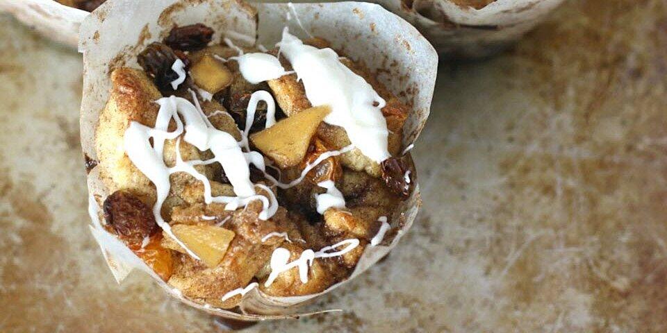 easy apple cinnamon roll muffins recipe