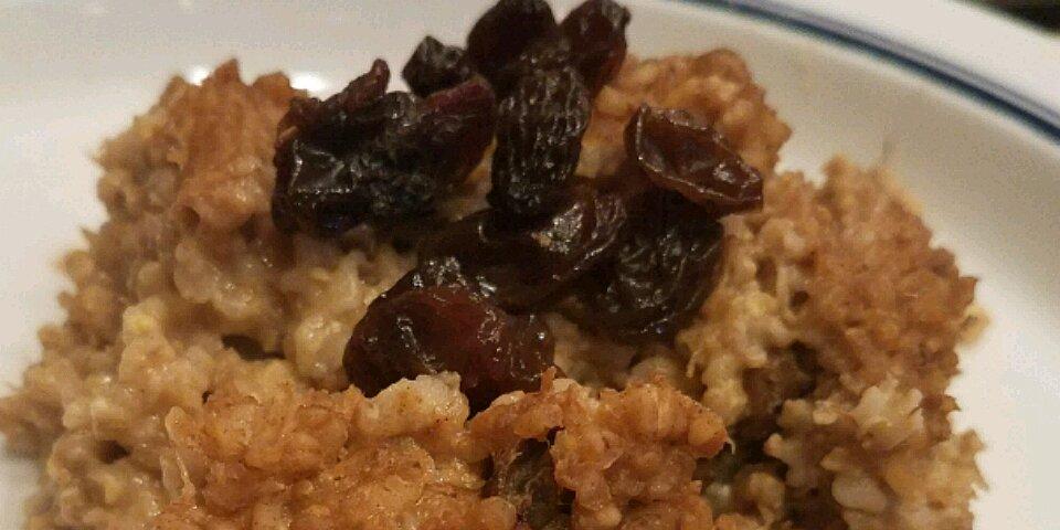 healthy baked steel cut oatmeal recipe