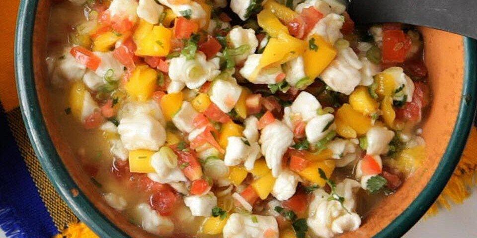mexican mango and white fish ceviche recipe