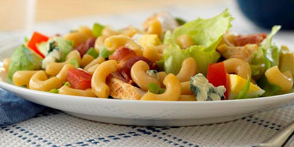 ready pasta cobb salad with ready pasta elbows recipe