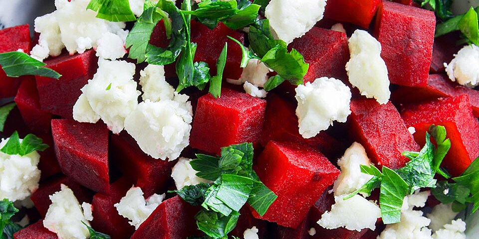 watermelon goat cheese salad recipe
