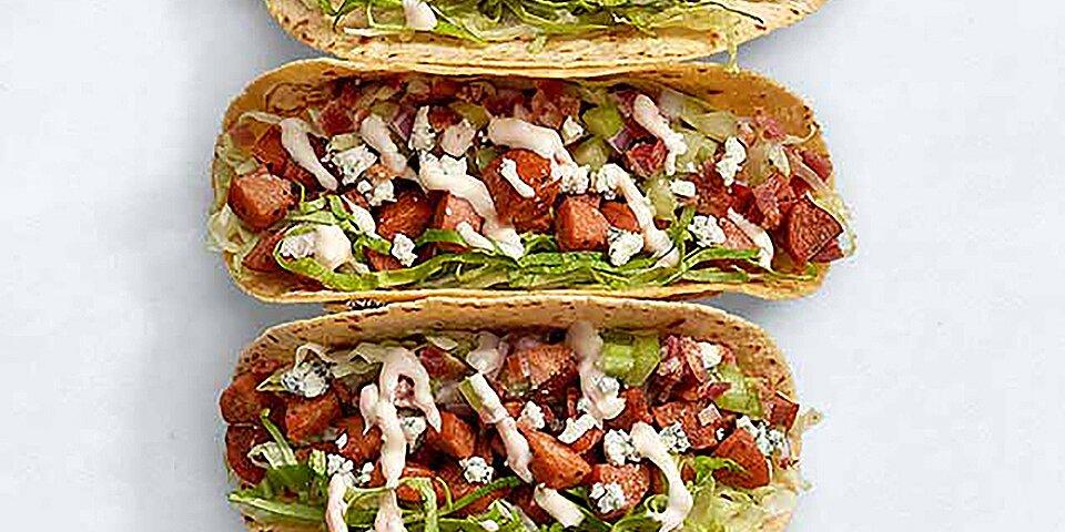 buffalo bleu chicken tacos recipe
