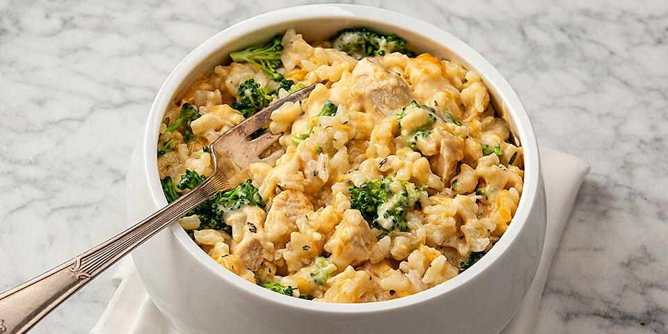 breeze chicken broccoli and rice casserole recipe
