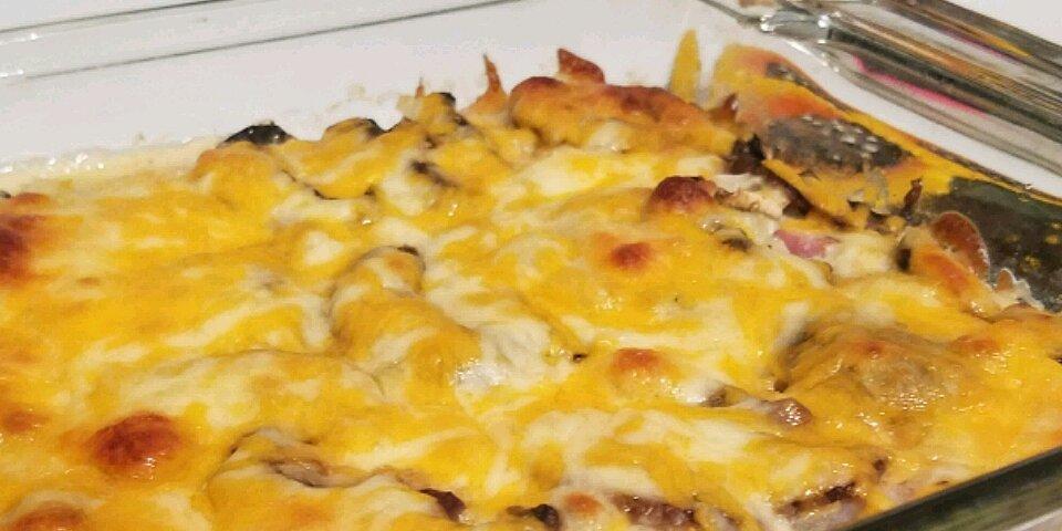 low carb bacon cheeseburger casserole recipe