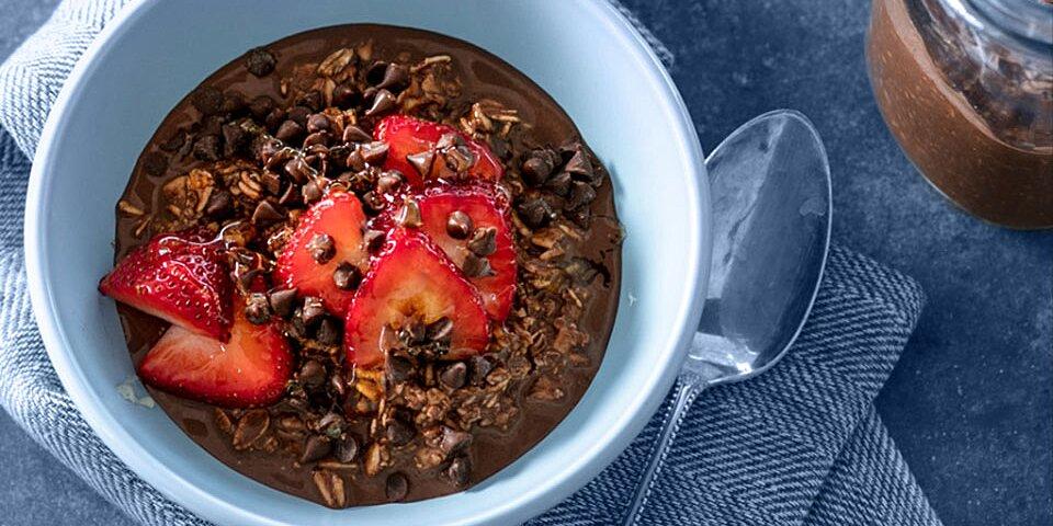 ghirardelli dutch chocolate overnight oats recipe