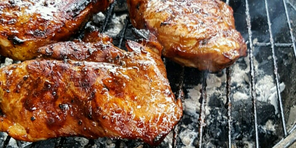 grilled pork loin chops recipe
