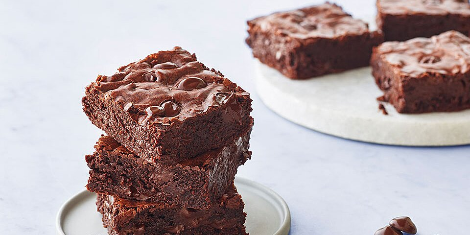 classic ghirardelli chocolate brownies