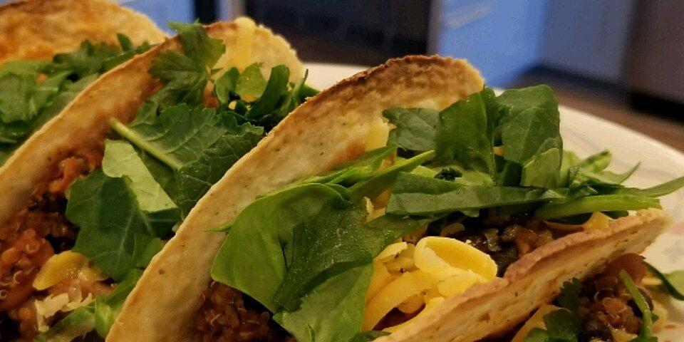 quinoa black bean tacos vegan recipe