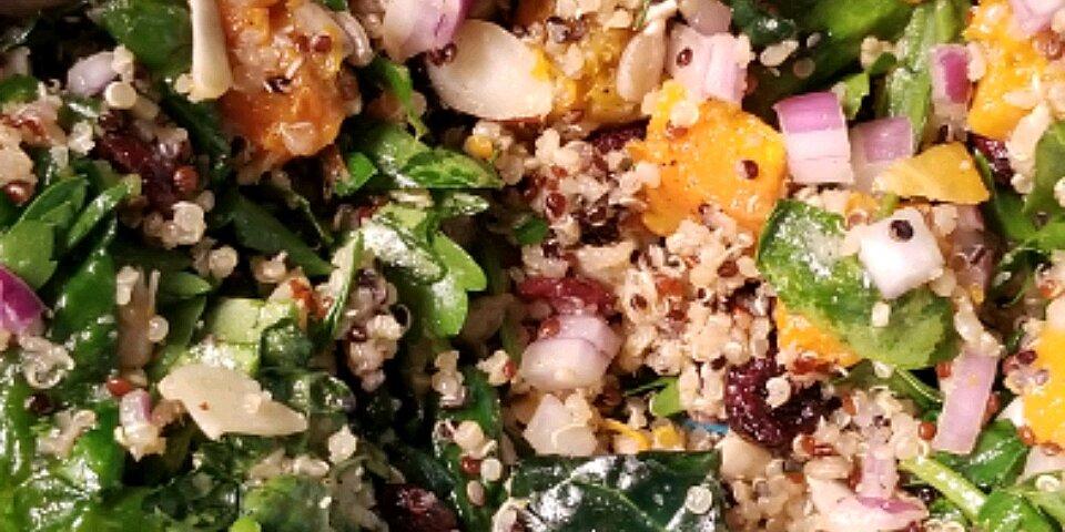 quinoa butternut squash and kale salad recipe