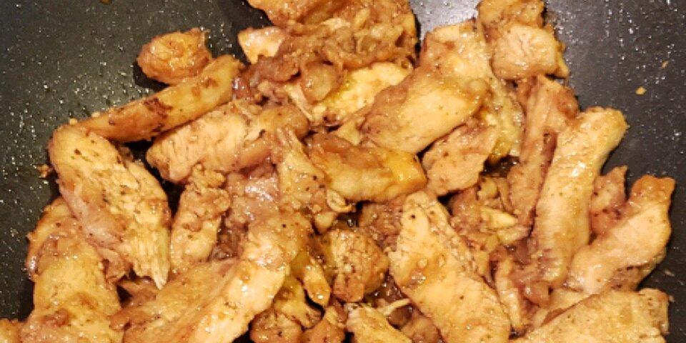 asian inspired honey vanilla chicken recipe