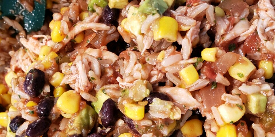 mexican chicken and rice salad recipe