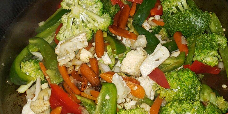 sesame vegetable stir fry