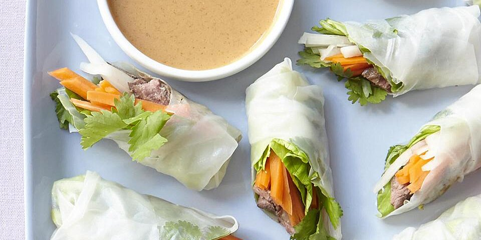 10 refreshing spring rolls for light meals and snacks