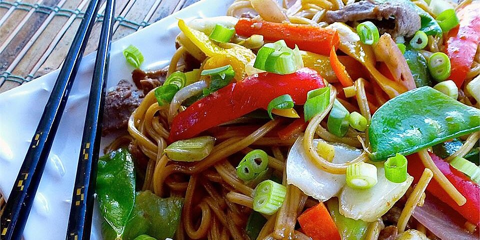 lo mein recipes ready in about 30 minutes