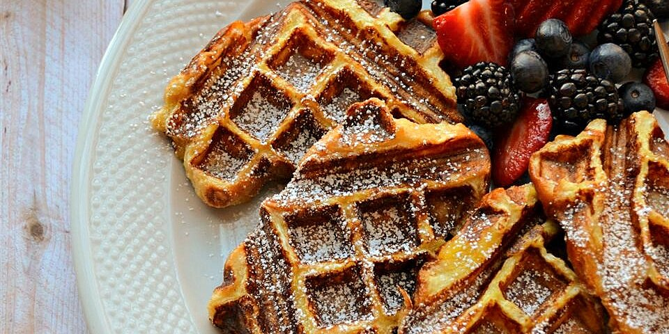 how to make french toast waffles