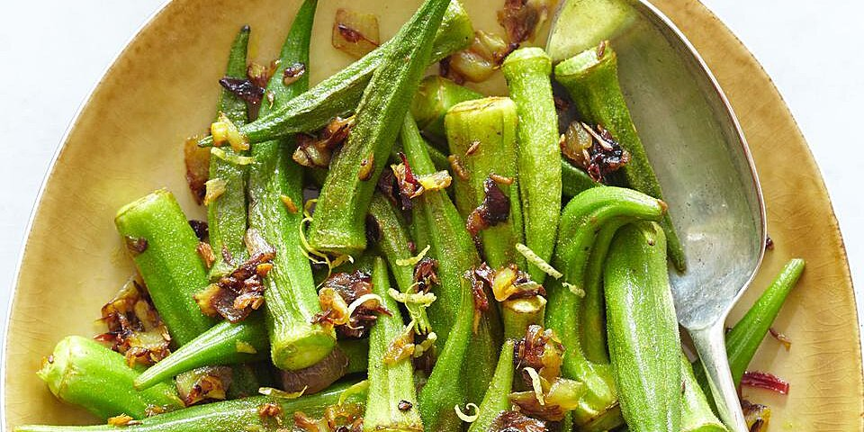 Indian Style Sauteed Okra Recipe Eatingwell
