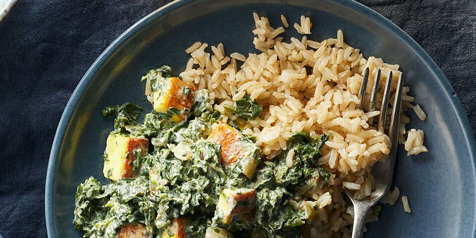 Easy Saag Paneer Recipe Eatingwell