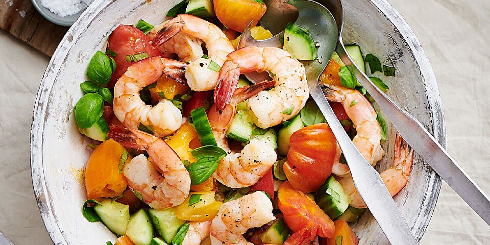 Summer Shrimp Salad Recipe Eatingwell